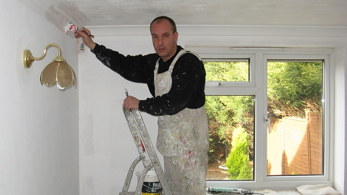 A painter/ decorator